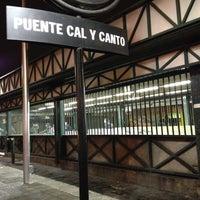 Photo taken at Metro Puente Cal y Canto by Alejandr on 6/12/2012