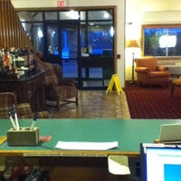 Photo taken at AmericInn by Jackie O. on 5/3/2012