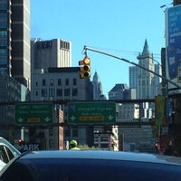 Photo taken at Holland Tunnel Toll Plaza by Glenn D. on 4/6/2012