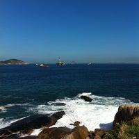 Photo taken at Praia do Sossego by Moises C. R. on 6/27/2012