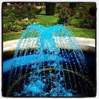 Photo taken at Julia Davis Rose Garden by Zach C. on 8/23/2012