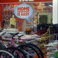 Photo taken at Ace Hardware & Informa, Cinere by henry j. on 5/27/2012