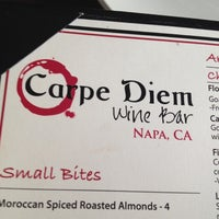 Photo taken at Carpe Diem Wine Bar by Sharon P. on 8/10/2012