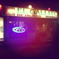 Photo taken at El Gallito De Jalisco Mobile by Omar D. on 6/7/2012