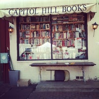 Photo taken at Capitol Hill Books by melanie on 5/5/2012