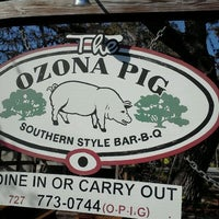Photo taken at The Ozona Pig by Crystal H. on 2/23/2012