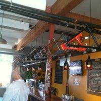 Photo taken at Hopworks BikeBar by Susan B. on 8/11/2012