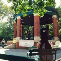 Photo taken at Church Square Park by Alec P. on 7/21/2012