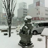 Photo taken at しなの鉄道 上田駅 by Takaaki Y. on 2/28/2012