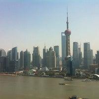 Photo taken at Hyatt on the Bund Shanghai by Anton on 3/24/2012
