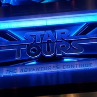 Photo taken at Star Tours - The Adventures Continue by Stephen M. on 8/30/2012