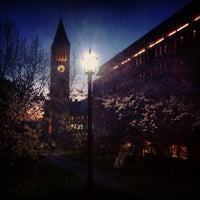 Photo taken at Uris Library by Christian P. on 3/27/2012