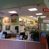 Photo taken at Crispers Fresh Salads, Soups and Sandwiches by Eric G. on 8/24/2012