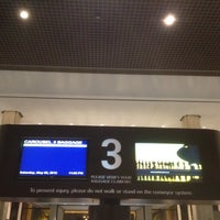 Photo taken at Baggage Claim by Carl C. on 5/6/2012