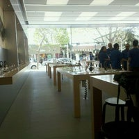 Photo taken at Apple Store, 4th Street by Dina B. on 4/13/2012