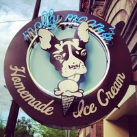 Photo taken at Molly Moon's Homemade Ice Cream by Chase P. on 5/28/2012