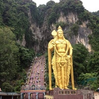 Photo taken at Batu Caves by Sinai on 3/31/2012