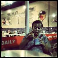 Photo taken at 3 Spoons Yogurt by Korab E. on 8/27/2012