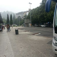 Photo taken at Estación de Autobuses de Donostia/San Sebastián by Fabian A. on 6/28/2012