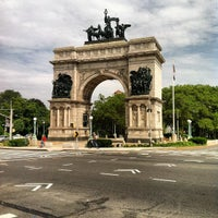 Photo taken at Grand Army Plaza by Anthony J. on 7/15/2012
