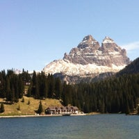 Photo taken at Lago di Misurina by Francesco R. on 5/19/2012