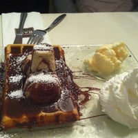 Photo taken at Waffle Bar by pini b. on 6/2/2012