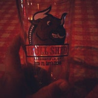 Photo taken at Bull Shed Bar & Grill by Drea C. on 7/18/2012