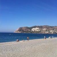Photo taken at La Herradura Beach by Nico on 8/29/2012