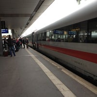 Photo taken at Hannover Hauptbahnhof by Tobias K. on 4/9/2012