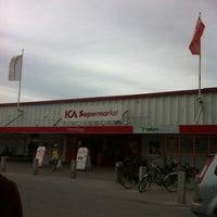 Photo taken at ICA Atterdags Supermarket by Sebastian S. on 7/4/2012