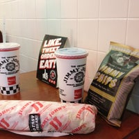Photo taken at Jimmy John's by Rao G. on 5/31/2012