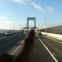 Photo taken at Throgs Neck Bridge Toll Plaza by Ivan O. on 8/27/2012