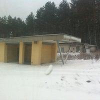 Photo taken at Baltamiškis by T B. on 2/27/2012