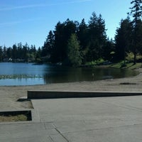 Photo taken at Steel Lake Park by Ed M. on 5/13/2012