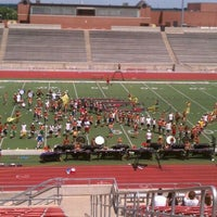Photo taken at Buddy Echols Field by Whitney C. on 7/24/2012