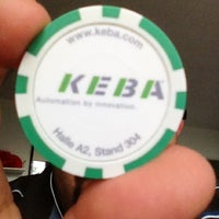 Photo taken at KEBA by Hans-Peter K. on 6/6/2012