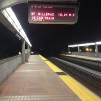 Photo taken at El Cerrito Plaza BART Station by JoJo D. on 3/12/2012