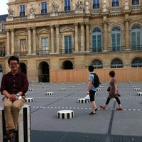 Photo taken at Palais Royal by jeonghoon k. on 7/28/2012