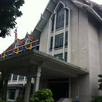 Photo taken at National Library of Thailand by Banana S. on 7/20/2012