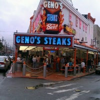 Photo taken at Geno's Steaks by Dwayne B. on 9/3/2012