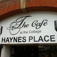 Photo taken at The Cafè At Craven Cottage by John A. on 7/13/2012