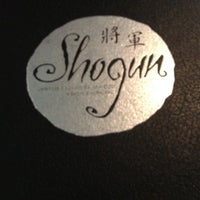 Photo taken at Shogun Japanese Restaurant by Dominique on 8/5/2012