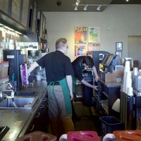 Photo taken at Starbucks by Stephanie L. on 2/13/2012