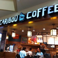 Photo taken at Caribou Coffee by Crissie K. on 8/10/2012