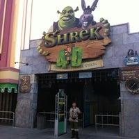 Photo taken at Shrek 4-D by Omar M. on 7/22/2012