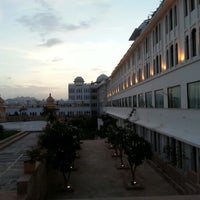 Photo taken at Sheraton Udaipur Palace Resort & Spa by Prashant S. on 8/18/2012