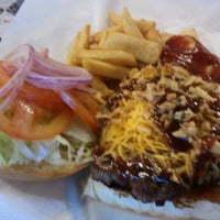 Photo taken at RG Burgers & Grill by MB L. on 4/30/2012