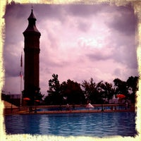 Photo taken at Highbridge Park Pool by Amy Lee P. on 9/2/2012