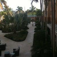 Photo taken at Courtyard Miami Aventura Mall by Sibele T. on 7/26/2012