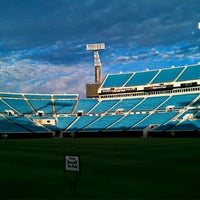 Photo taken at EverBank Field by Erich P. on 2/13/2012